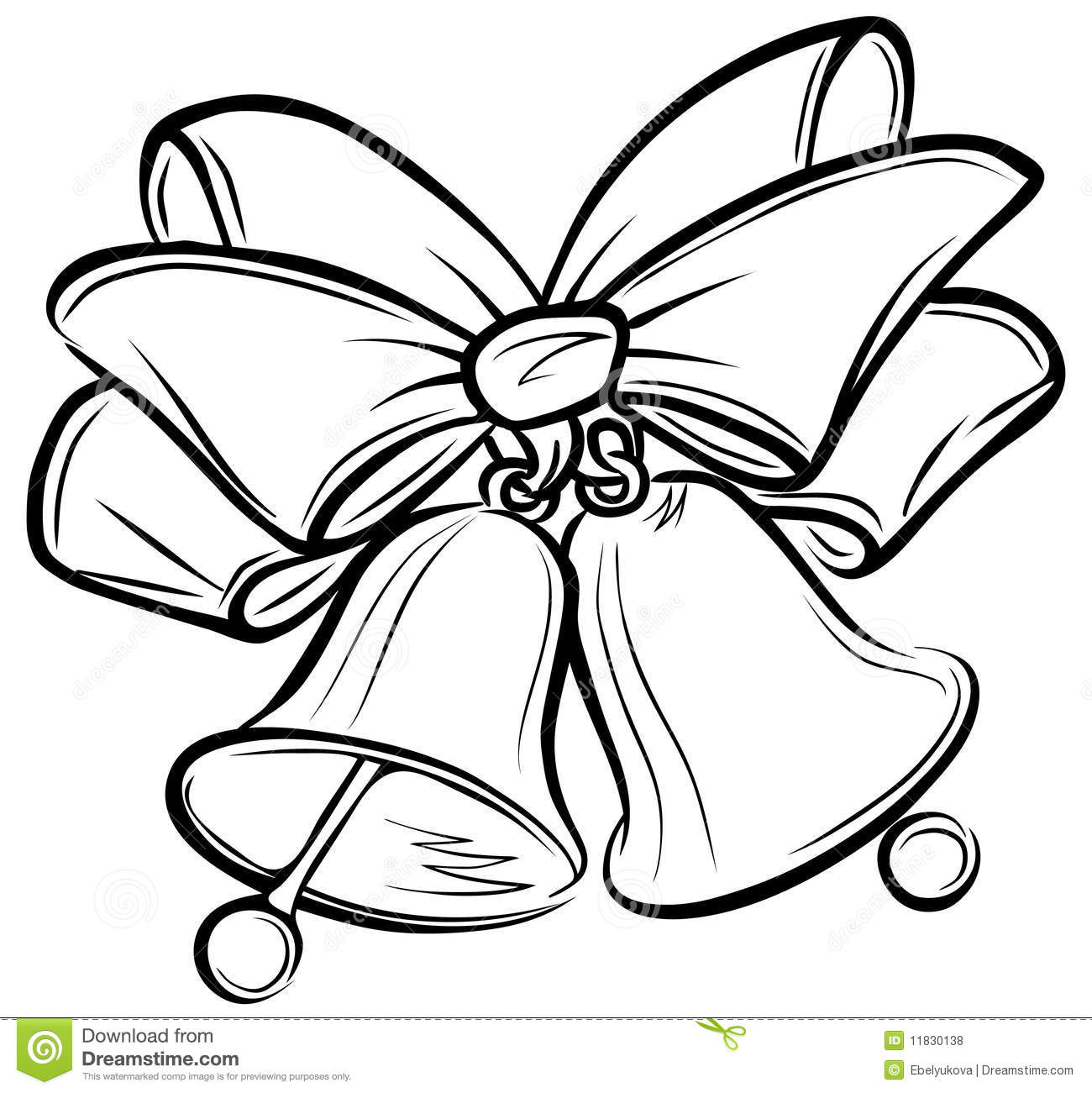 Bell clipart sketches. Wedding free download best