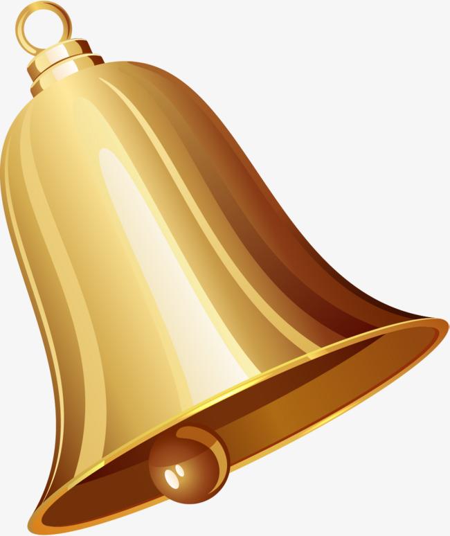 Cartoon gold bells golden. Bell clipart small bell