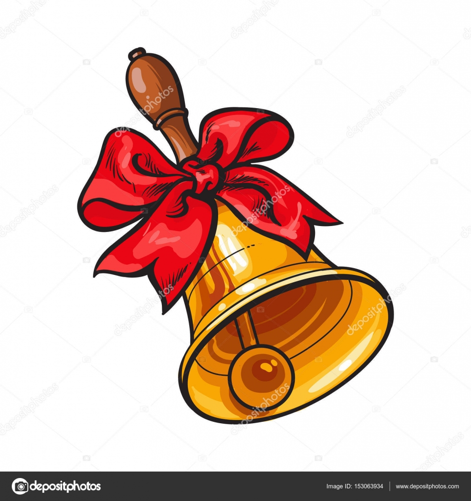 School drawing at getdrawings. Bell clipart traditional