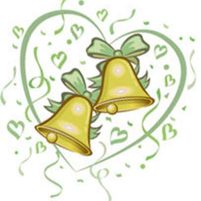 Bell clipart traditional. Wedding anniversary gifts memrise