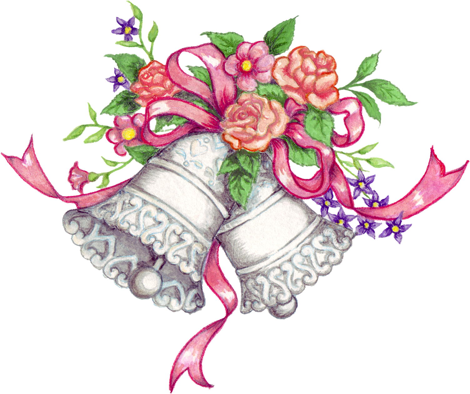 Feast clipart marriage. Wedding bells clipartmonk free