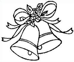 Bells clipart line. Free wedding