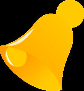 Clip art at clker. Bell clipart yellow bell