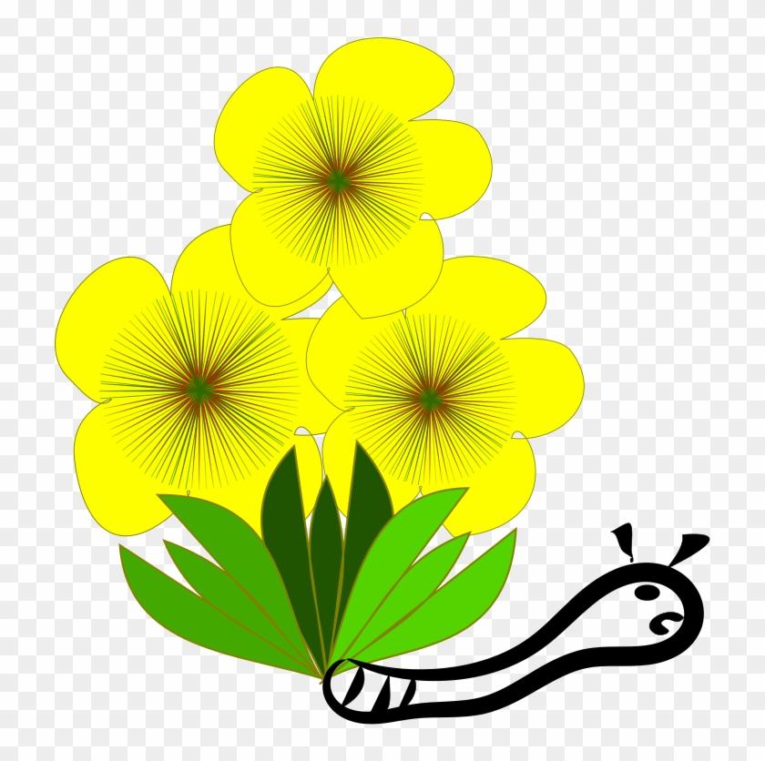 Medium image flower clip. Bell clipart yellow bell