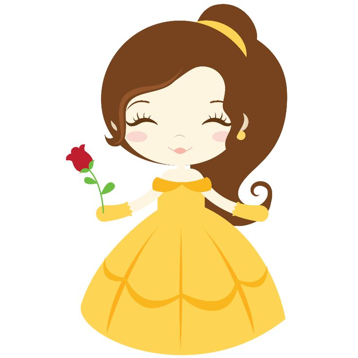 belle clipart animated
