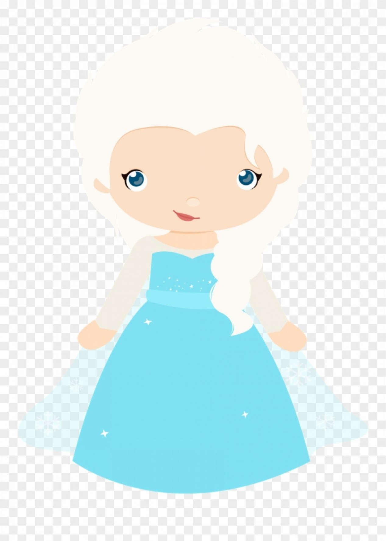 Frozen lamaison . Elsa clipart vector