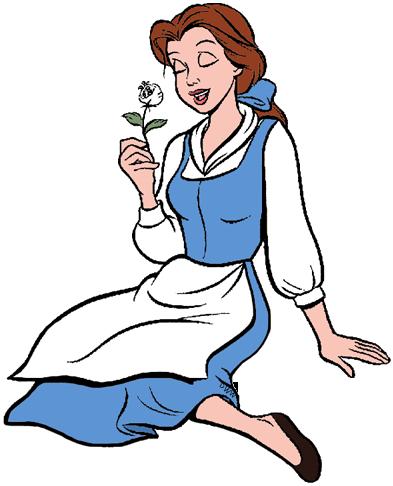 Belle clipart bell. Clip art disney galore
