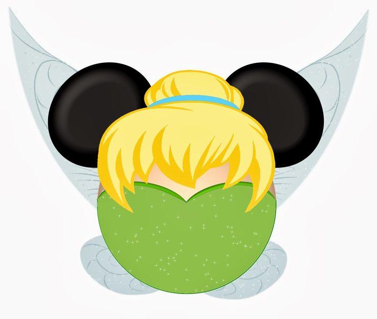 best disney head. Belle clipart ear mickey