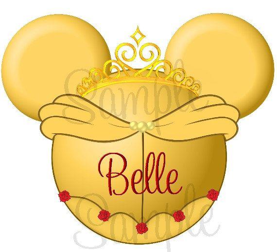 best mouseketeer ears. Belle clipart ear mickey