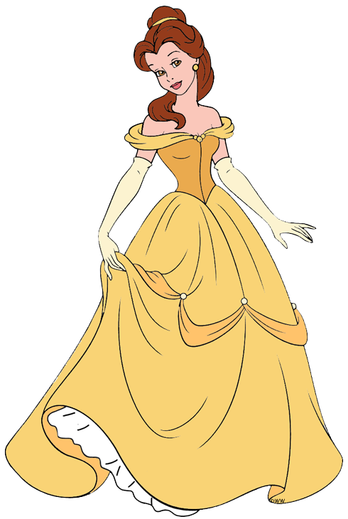 Belle disney galore in. Costume clipart clip art