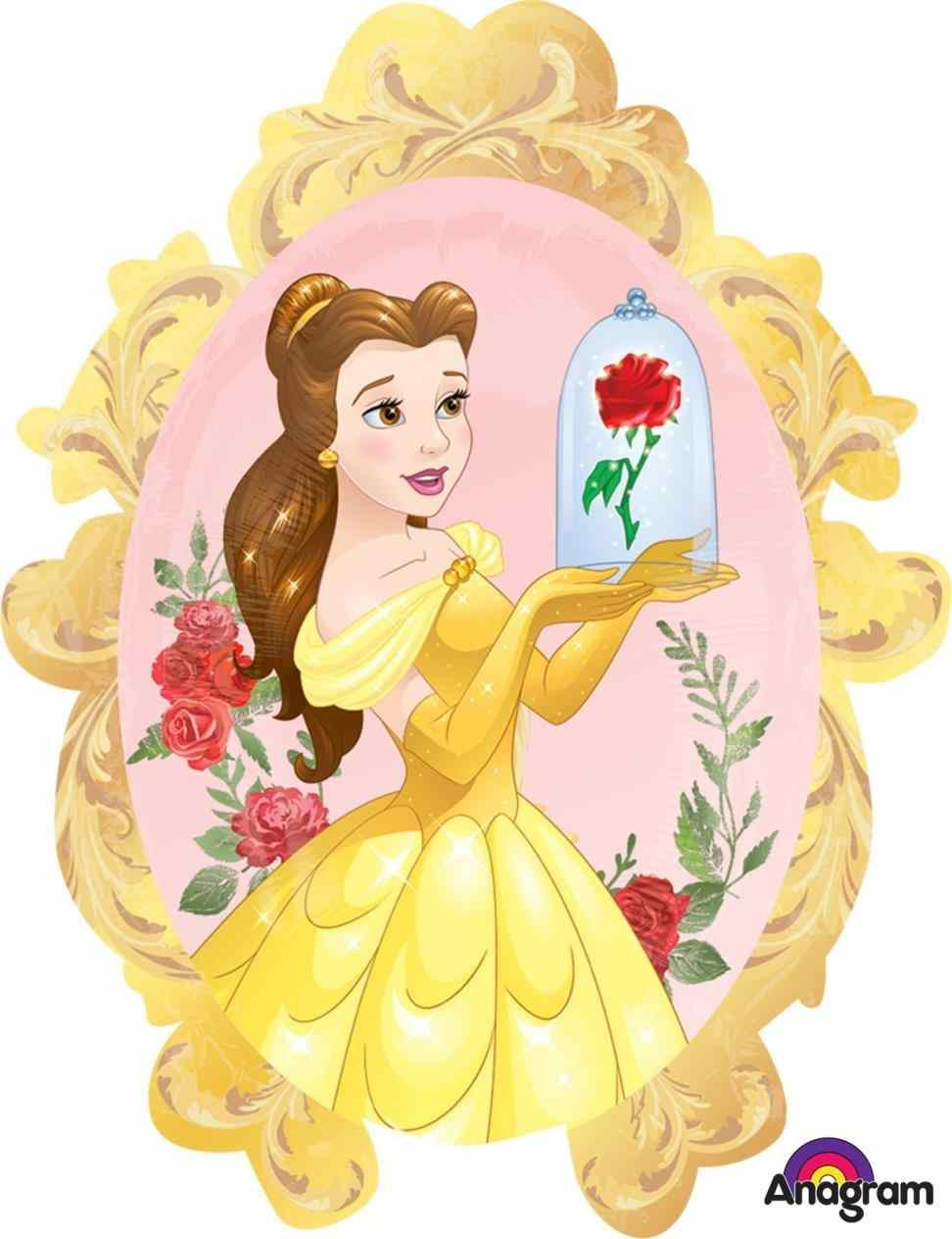 Belle clipart mirror. Beauty and the beast