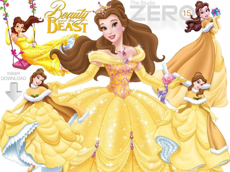 disney princess beauty. Belle clipart mirror