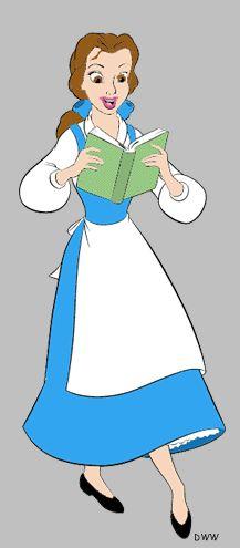 belle clipart peasant