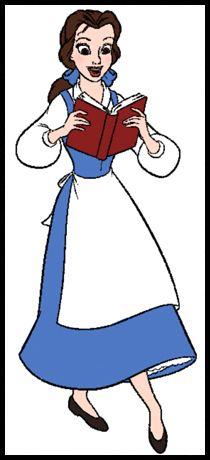 best blue dress. Belle clipart peasant