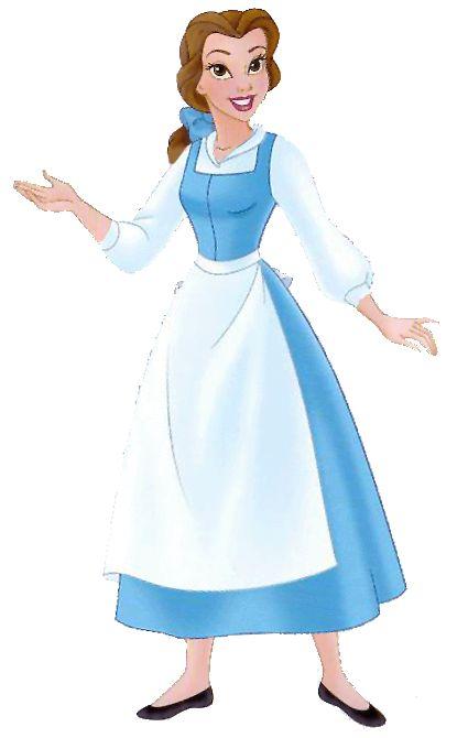 best disney beauty. Belle clipart peasant