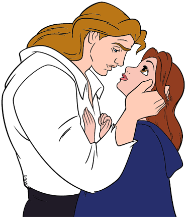 And the beast clip. Belle clipart prince