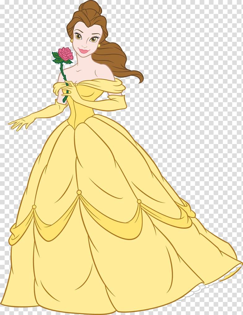 Belle clipart princes disney. Rapunzel beast princess transparent