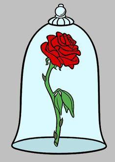 Belle clipart rose. Disney beauty and the