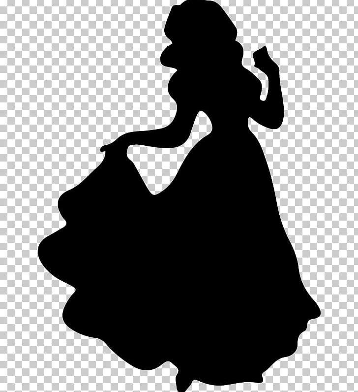 Snow white youtube disney. Belle clipart silhouette