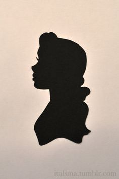 Belle clipart silhouette. Pinteres google search