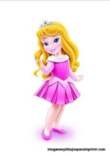 Princesas baby minus printables. Belle clipart toddler