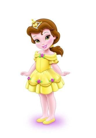 belle clipart toddler