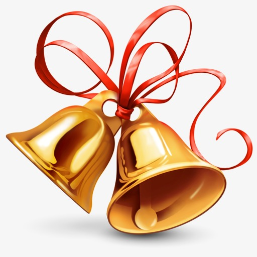 Bells clipart bell instrument. Christmas decoration png image