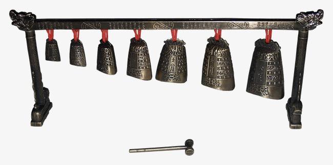 Iron musical instruments retro. Bells clipart bell instrument