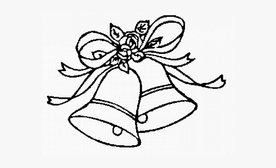 Bells clipart black and white. Wedding clip art