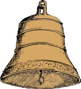 Bell clipart sketches. Church