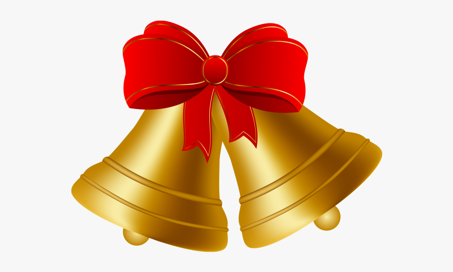 Christmas bell png cliparts. Bells clipart design