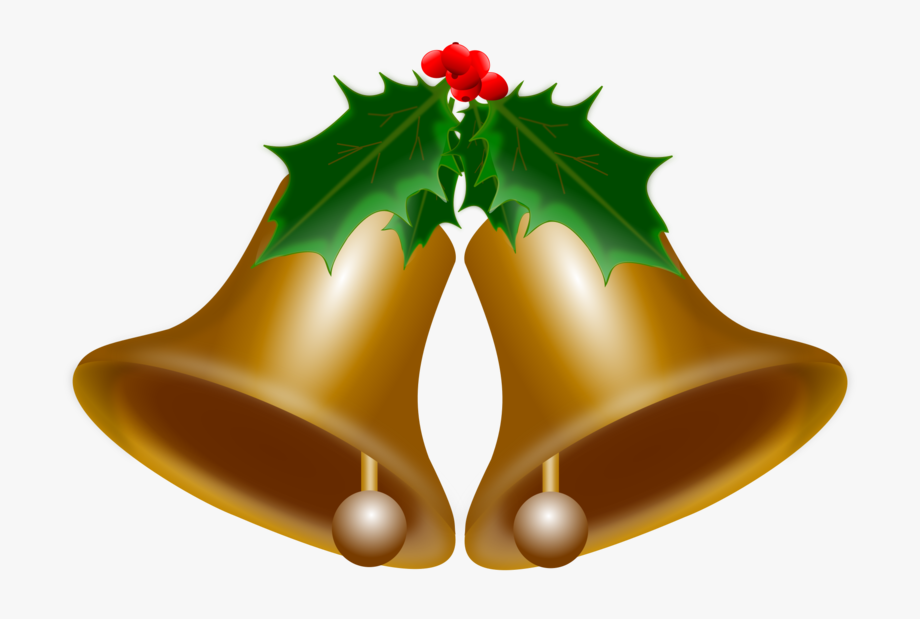 Holly clipart small. Bells of christmas clip