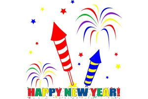 Bells clipart new year. Firework images happy pinterest