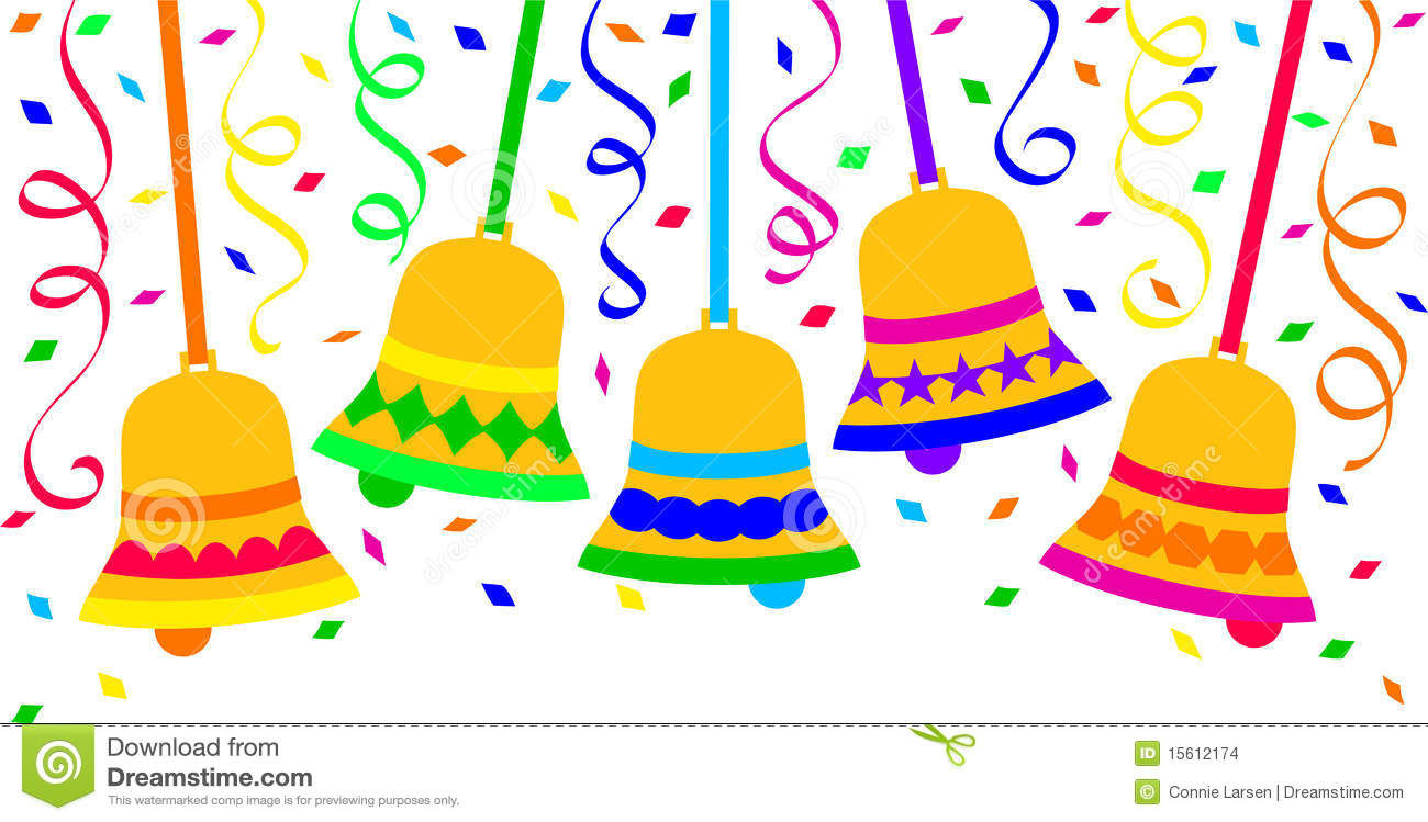 Fiesta and backgrounds . Bells clipart new year