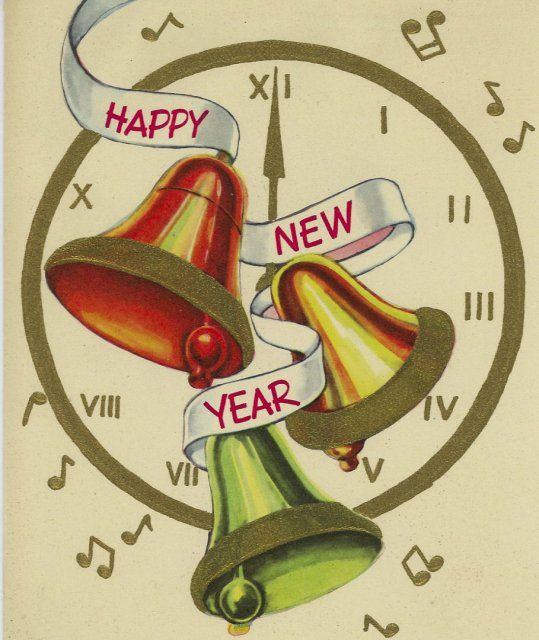 Pin on christmas . Bells clipart new year