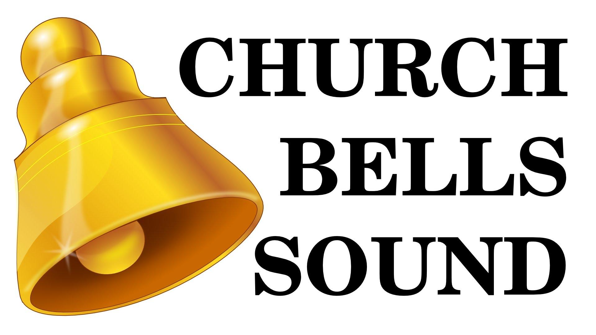 Bell clipart ringing bell. Church bells sound effect