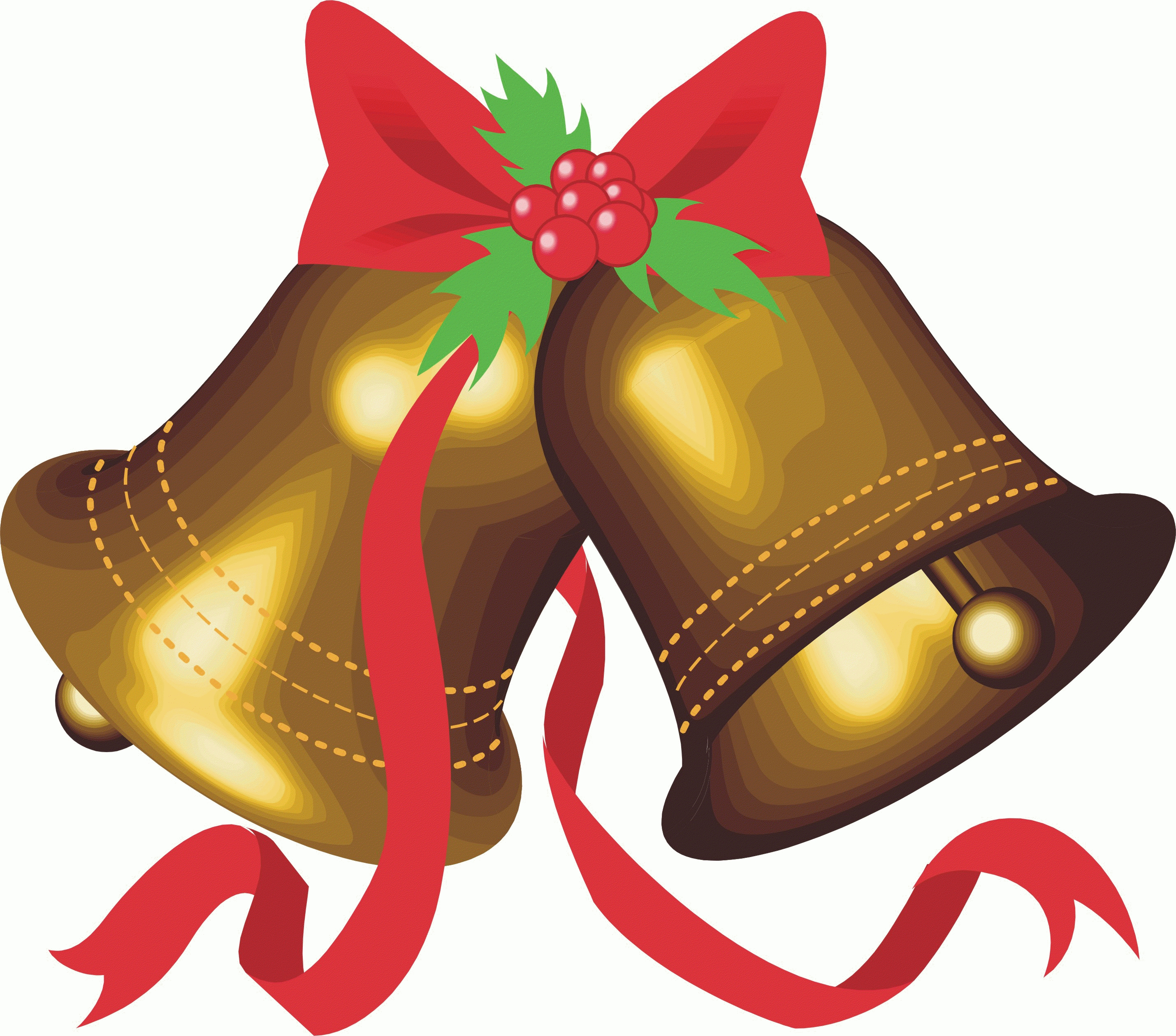 Bells clipart traditional. Christmas image art n