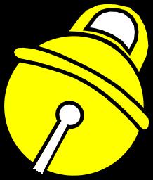 Bells clipart vector. Bell ringing cutout clip