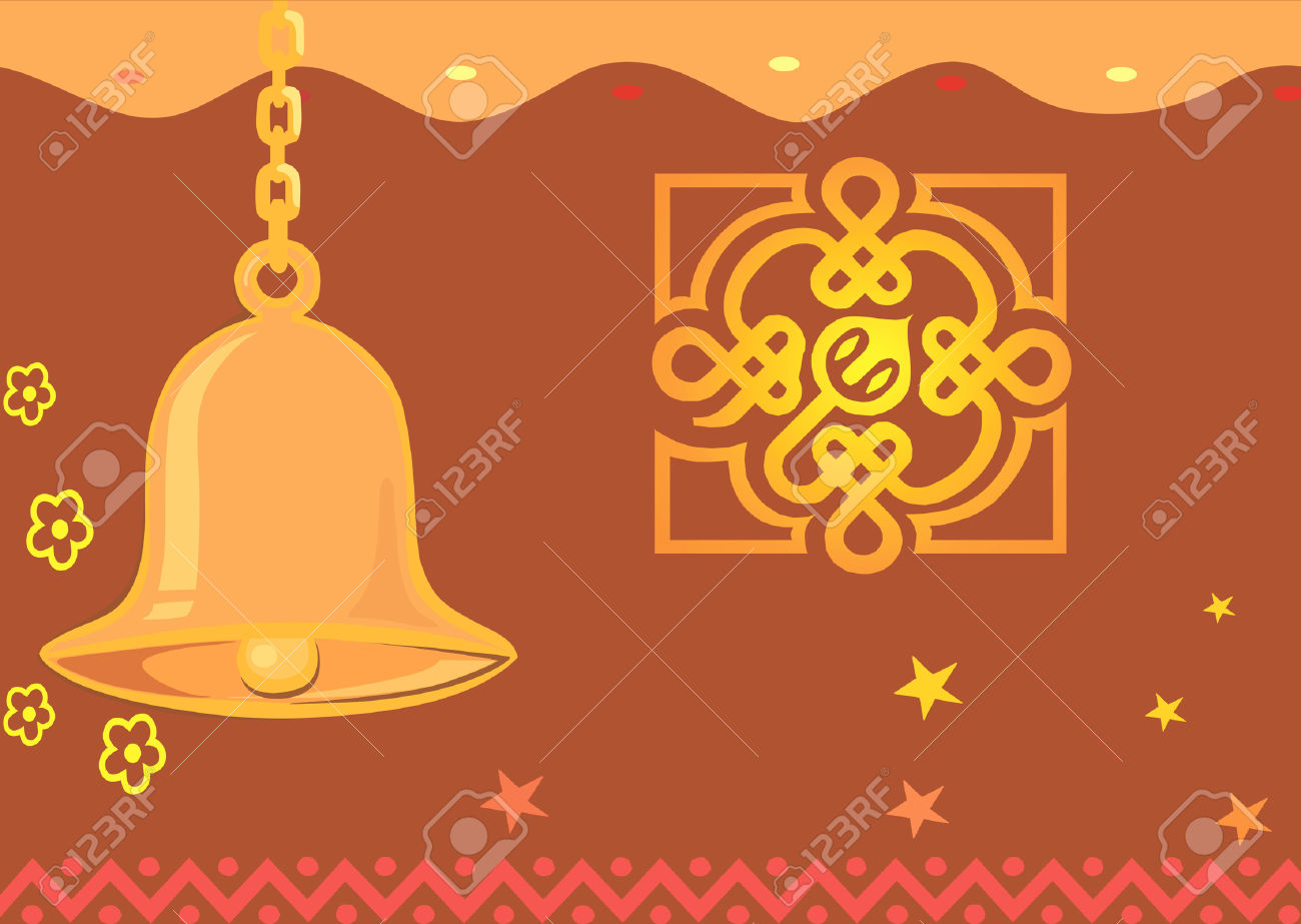 Bells clipart vector. Bell temple pencil and