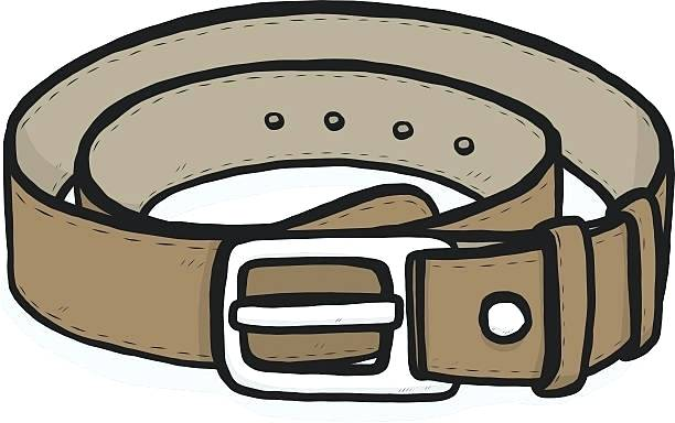 Belt clipart. Buckle royalty free white