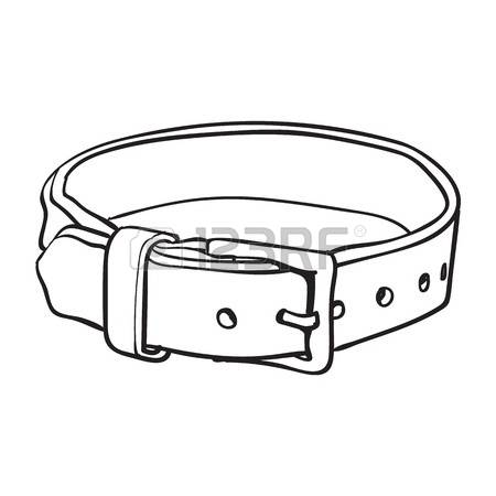 Black and white station. Belt clipart