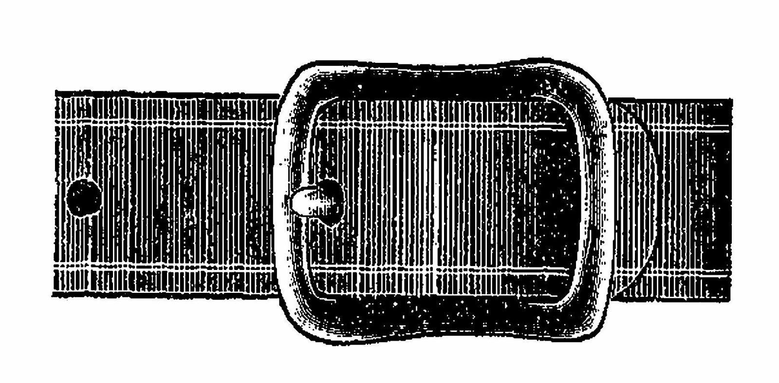 Antique images free digital. Belt clipart belt buckle