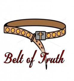 best armour of. Belt clipart belt truth