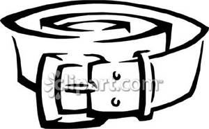 Rolled up panda free. Belt clipart black and white