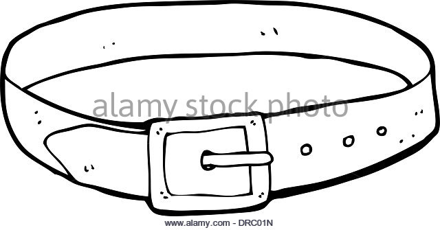 Belt clipart black and white. Station