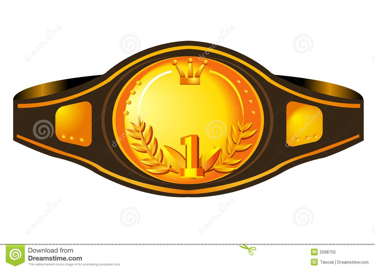 belt clipart boxing