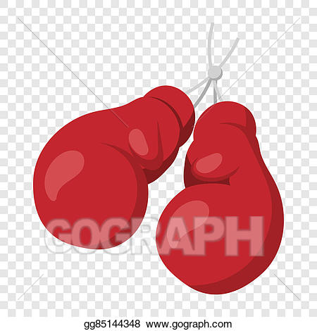 Boxer clipart background. Stock illustrations boxing gloves