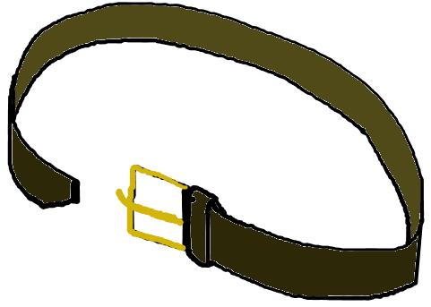 Belt cartoon