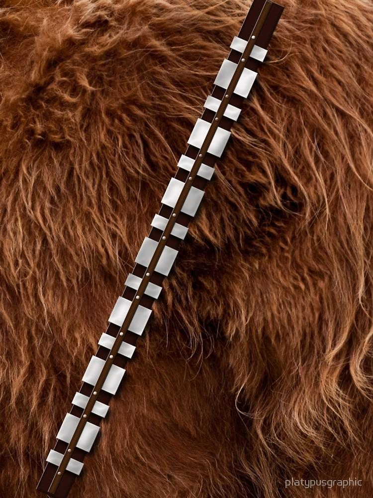 Chewie furry a line. Chewbacca clipart belt