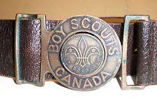 Old boy scout buckle. Belt clipart cinturon